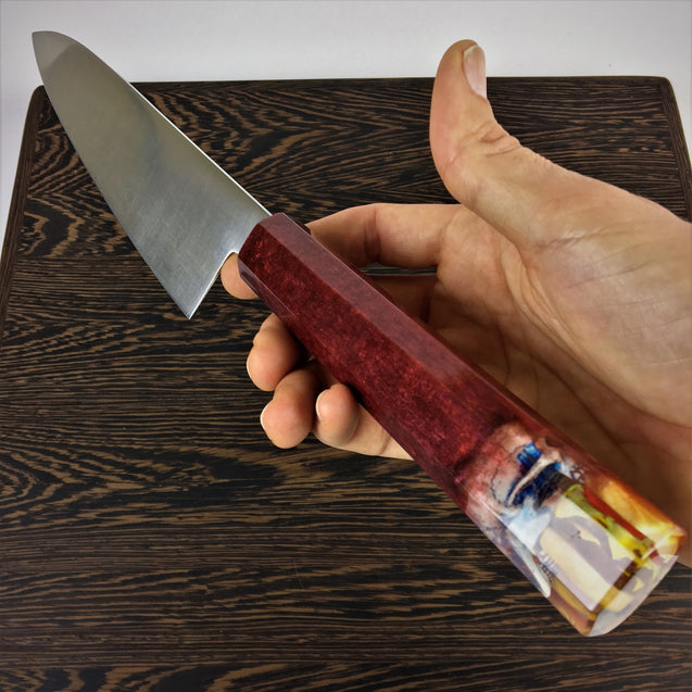 Randy Bobandy, Not even death could keep him from pounding cheeseburgers - 210mm (8.25in) Gyuto Chef Knife