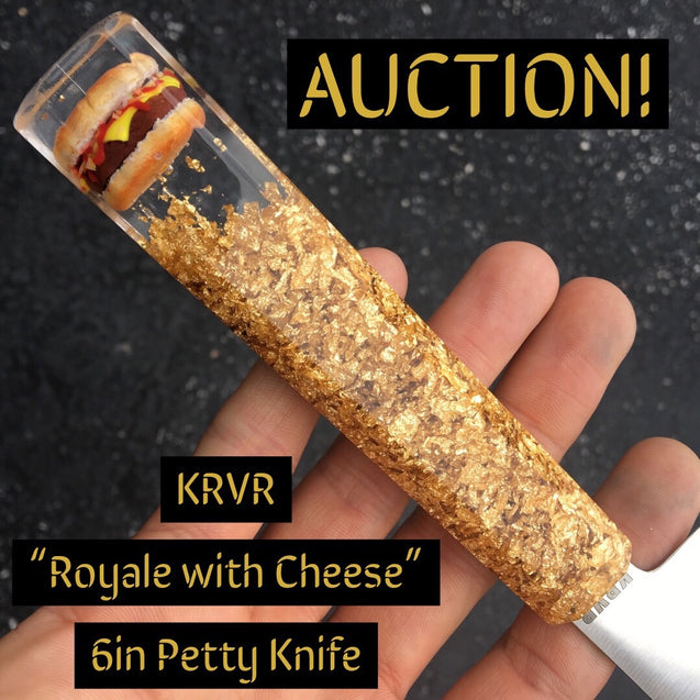"Royale with Cheese - 6"" Petty Knife - SOLD"