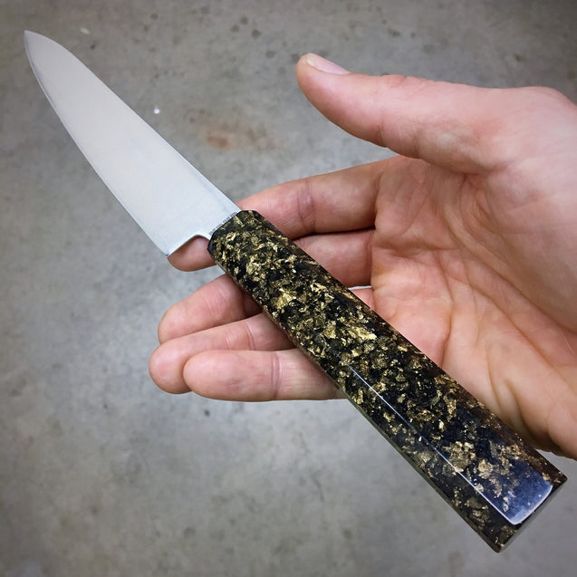 Black Gold - 6in Petty Culinary Knife