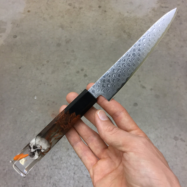 What's Up Doc? - 6in Damascus Petty Culinary Knife