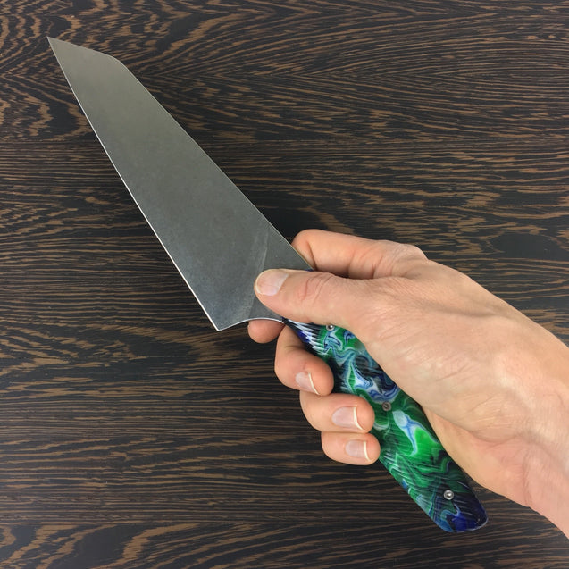 "Lil' Stormy - 7.6"" Gyuto Chef Knife S35VN Stainless Steel"