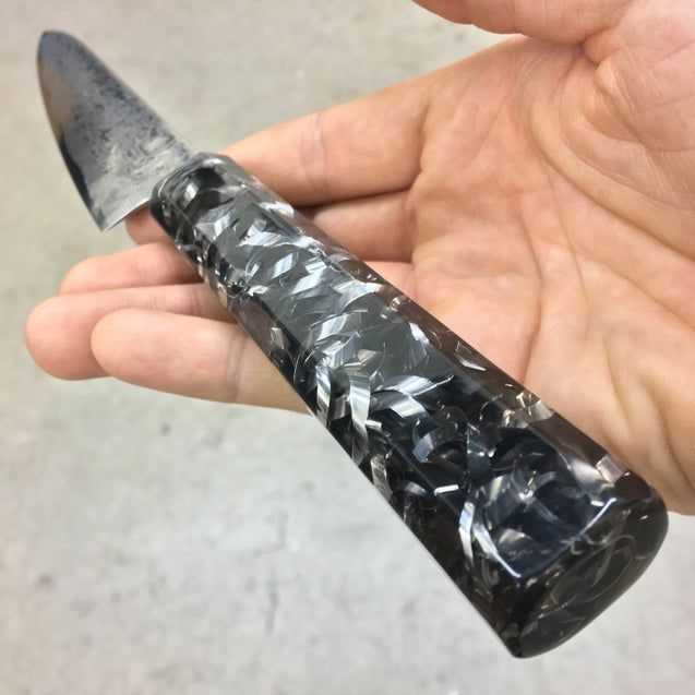 Curly Fries of Steel - 6in Damascus Petty Culinary Knife