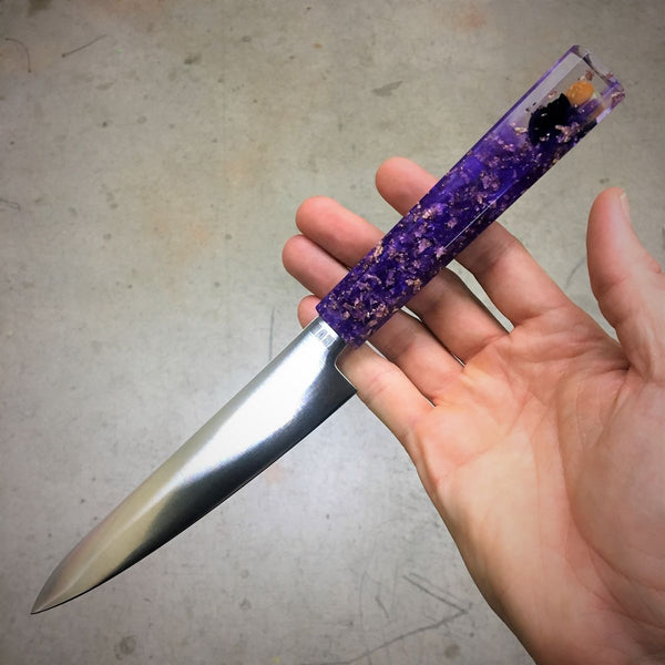 Purple Burger Eater - 6in Petty Culinary Knife