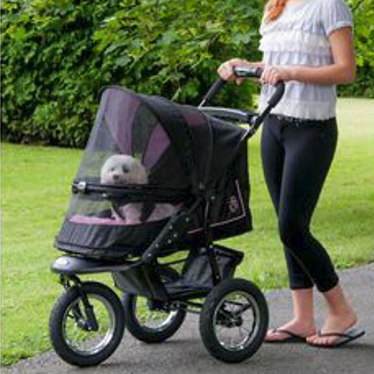 NV No Zip Pet Stoller Package in Pink