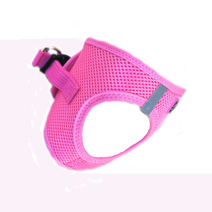 American River Choke Free Dog Harness - Solid Candy Pink | Pawlicious & Company