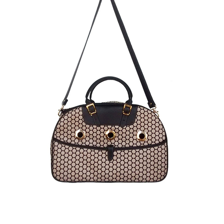 Ariel Dog Carrier - Noir Dot | Pawlicious & Company