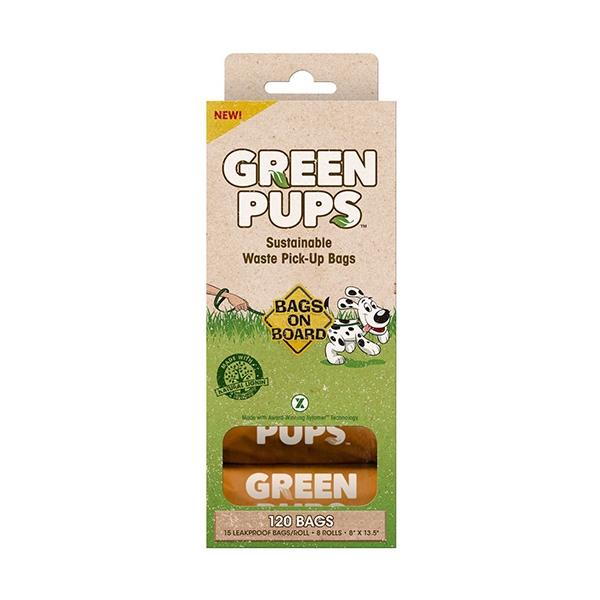 Bags on Board Bag Green-Ups Refills 120 Count | Pawlicious & Company