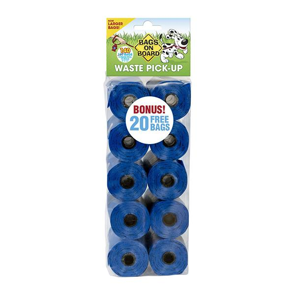 Bags on Board Bag Refills - Blue 60 Count | Pawlicious & Company