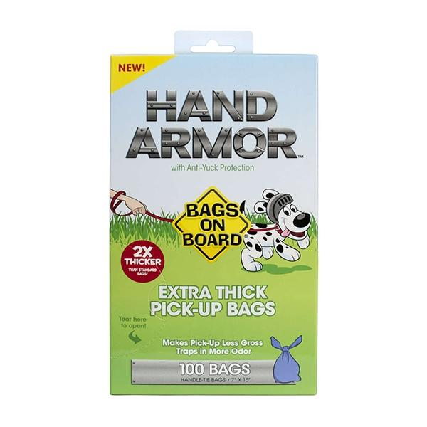 Bags on Board Hand Armor Pick-Up Bags 100 Count | Pawlicious & Company