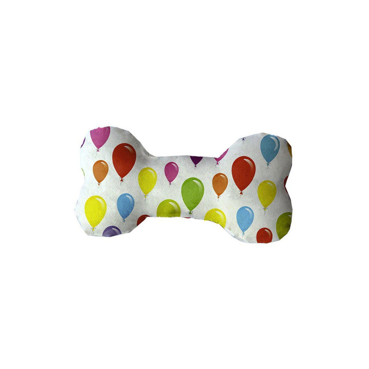 Birthday Balloons Bone Shaped Dog Toy | Pawlicious & Company