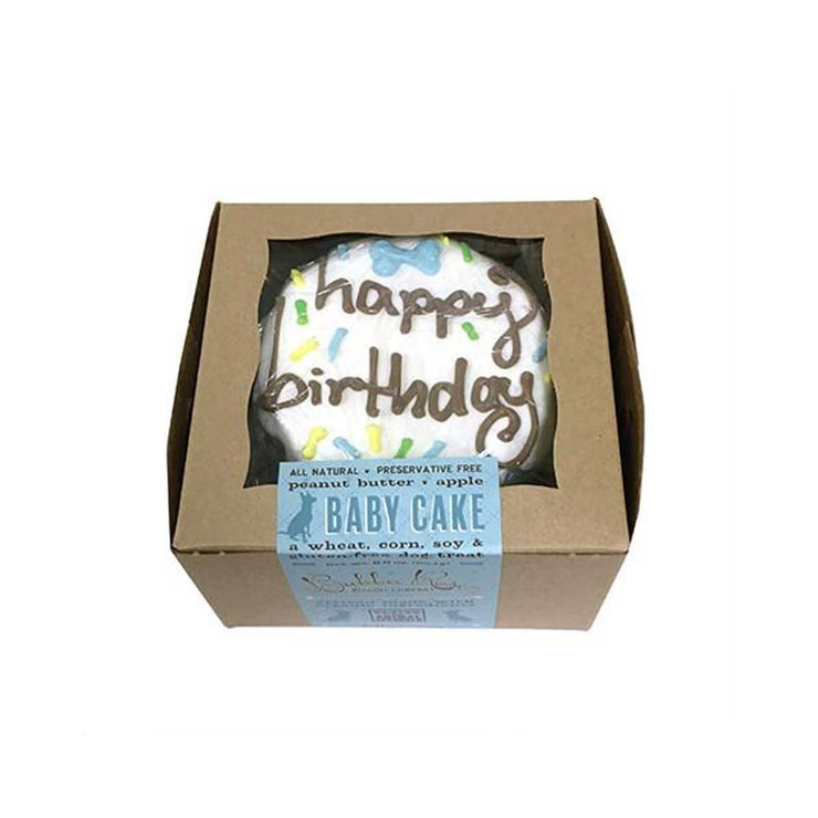 Blue Birthday Baby Cake (Shelf Stable) | Pawlicious & Company