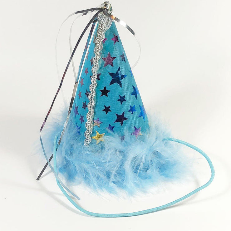 Blue Charming Pet Party Hat | Pawlicious & Company