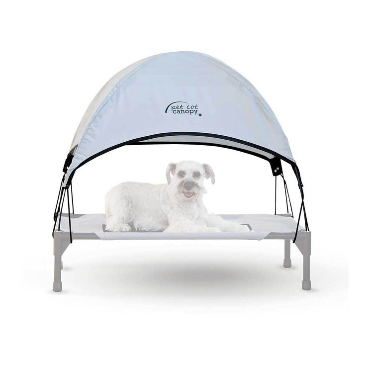 Blue Dog Cot Canopy | Pawlicious & Company