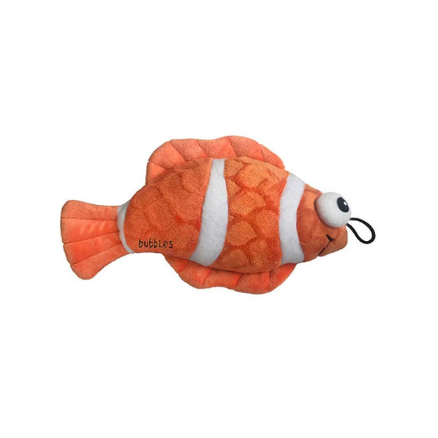 Bubbles the Fish Plush Dog Toy | Pawlicious & Company