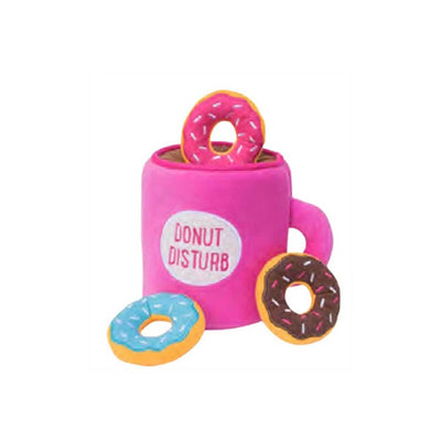 Burrow Coffee & Donuts Dog Toy | Pawlicious & Company