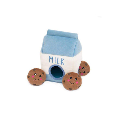 Burrow Milk & Cookies Dog Toy Puzzle | Pawlicious & Company