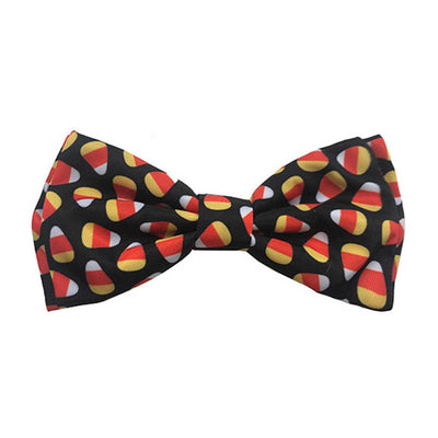 Candy Corn Dog Collar Bow Tie | Pawlicious & Company