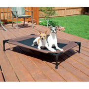 Chocolate Brown Dog Cot in Large | Pawlicious & Company
