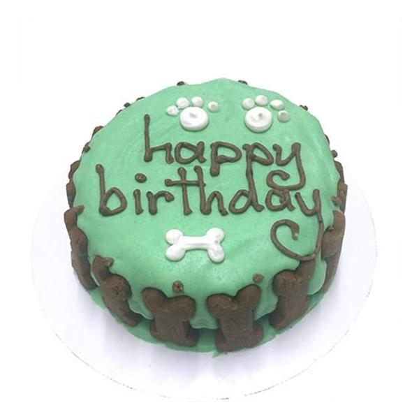 Classic Green Cake Just for Dogs | Pawlicious & Company