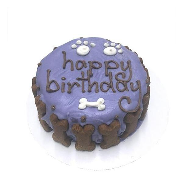 Classic Purple Cake Just for Dogs | Pawlicious & Company