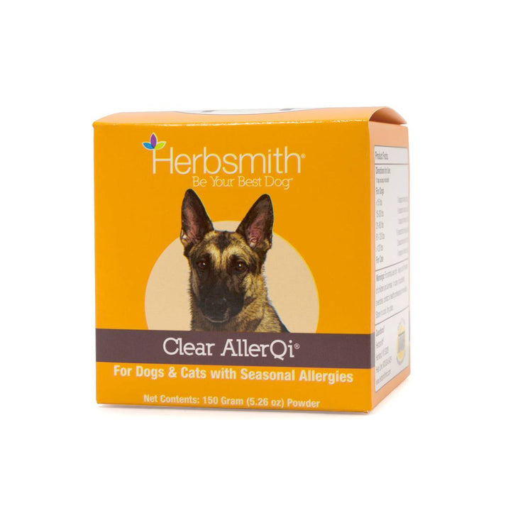 Clear AllerQi Seasonal Allergy Support for Dogs & Cats | Pawlicious & Company