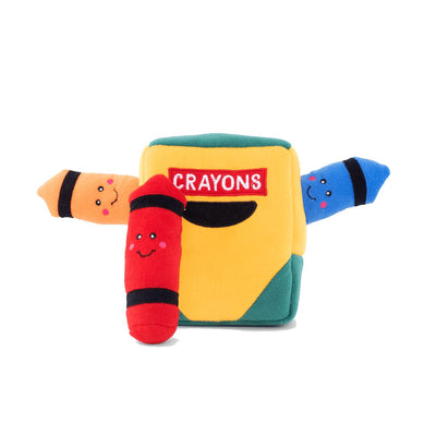 Crayon Box Burrow Dog Toy | Pawlicious & Company