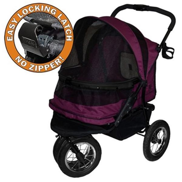 Double Pet Stroller No Zip | Pawlicious & Company