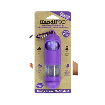 HandiPOD Dispenser with Sanitizer - Purple | Pawlicious & Company