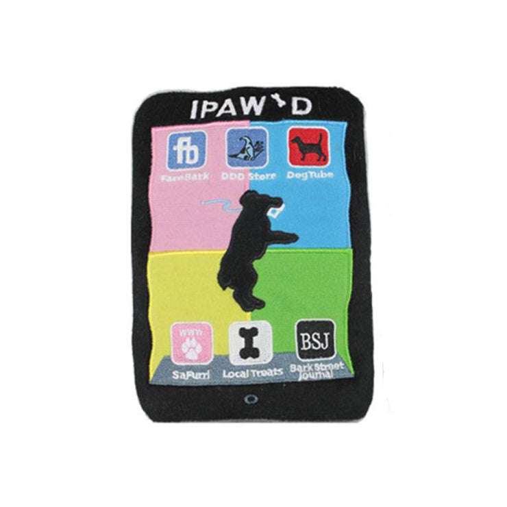 iPAW'D Plush Dog Toy