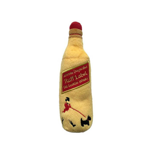 Johnnie Dogwalker Ruff Label Dog Toy