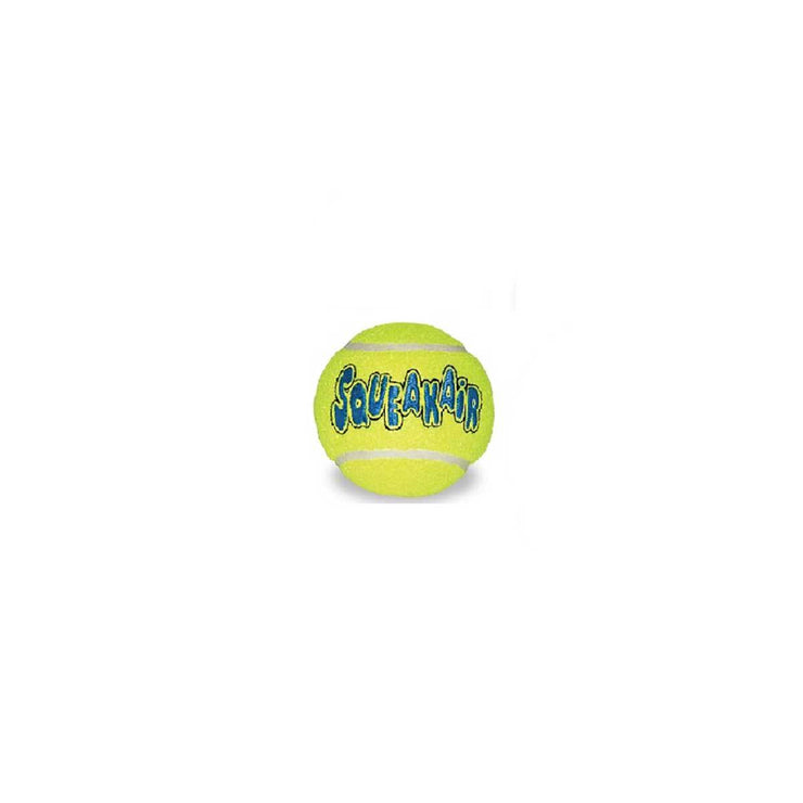 Kong AirDog Squeaker Tennis Balls - Single Medium | Pawlicious & Company
