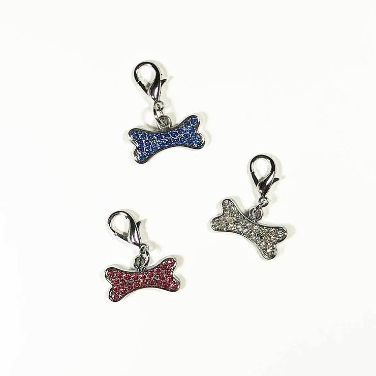 Lobster Claw Dog Bone Collar Charm | Pawlicious & Company