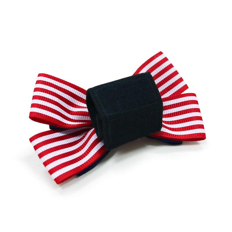 Nautical 4 Dog Collar Bow Tie | Pawlicious & Company