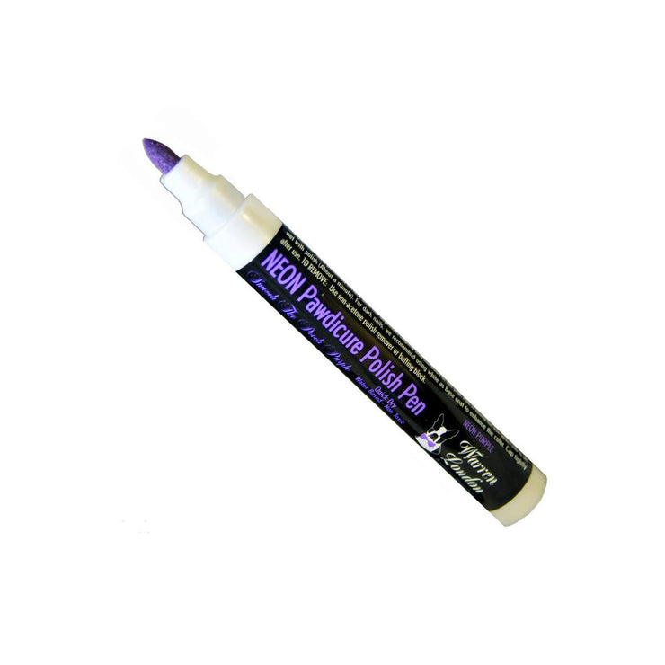 Warren London Pawdicure Polish Pen - Neon Purple | Pawlicious & Company
