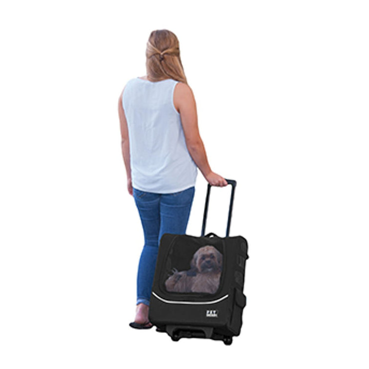 I-GO Traveler Plus Carrier System in Black | Pawlicious & Company