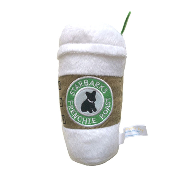 Starbarks Plush Dog Toy with Lid | Pawlicious & Company