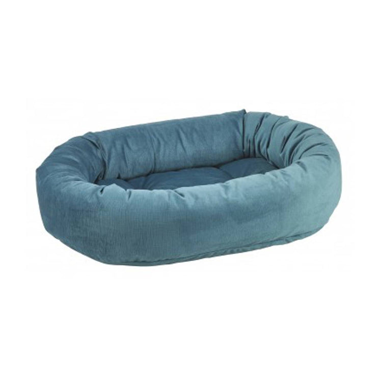 Donut Dog Pet Bed in Teal | Pawlicious & Company