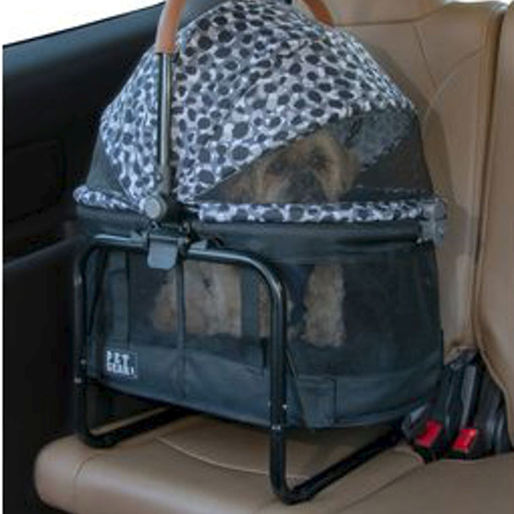 View 360 Travel System in Gray Animal | Pawlicious & Company