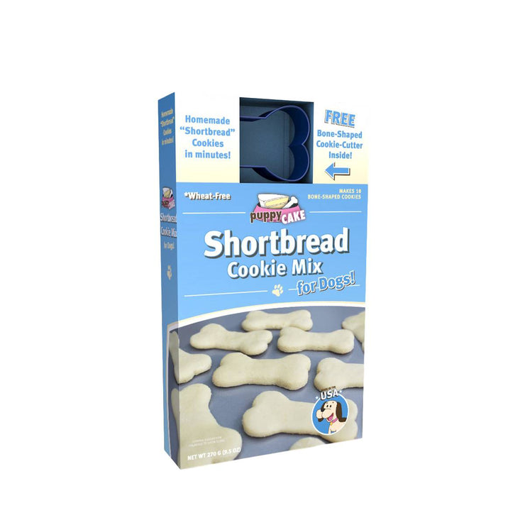 Shortbread Cookie Mix & Cookie Cutter (Wheat Free) | Pawlicious & Company