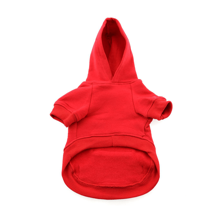 Flex Fit Hoodie in Red | Pawlicious & Company