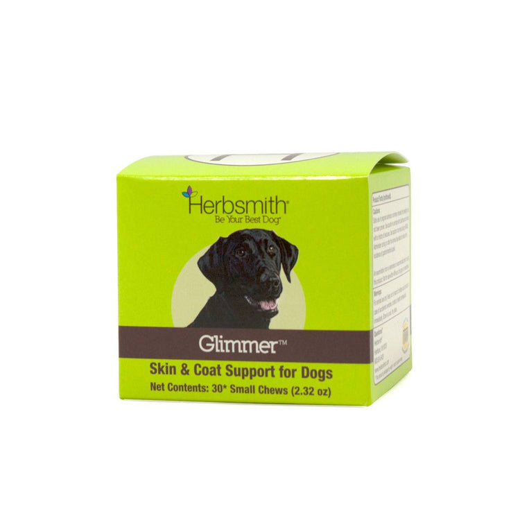 Glimmer Natural Source of Omega 3 & 6 for Dogs - Small Chews | Pawlicious & Company