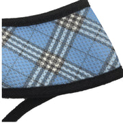 Plaid Breathe EZ Pullover Mesh Dog Harness in Blue | Pawlicious & Company