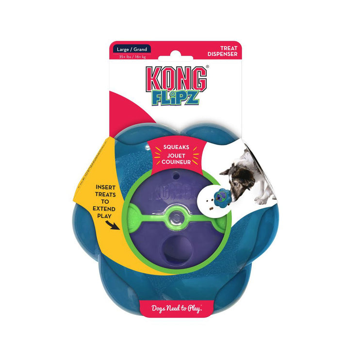 KONG® Flipz Treat Dog Toy | Pawlicious & Company