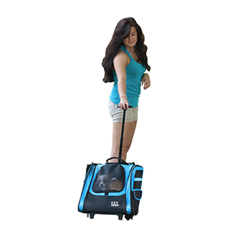 I-GO Traveler Carrier System in Ocean Blue | Pawlicious & Company