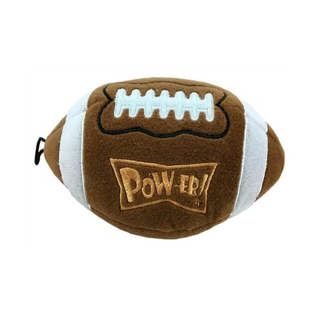 Pigskin Football Plush Dog Toy