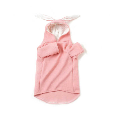Pink Hoodie with Rabbit Ears