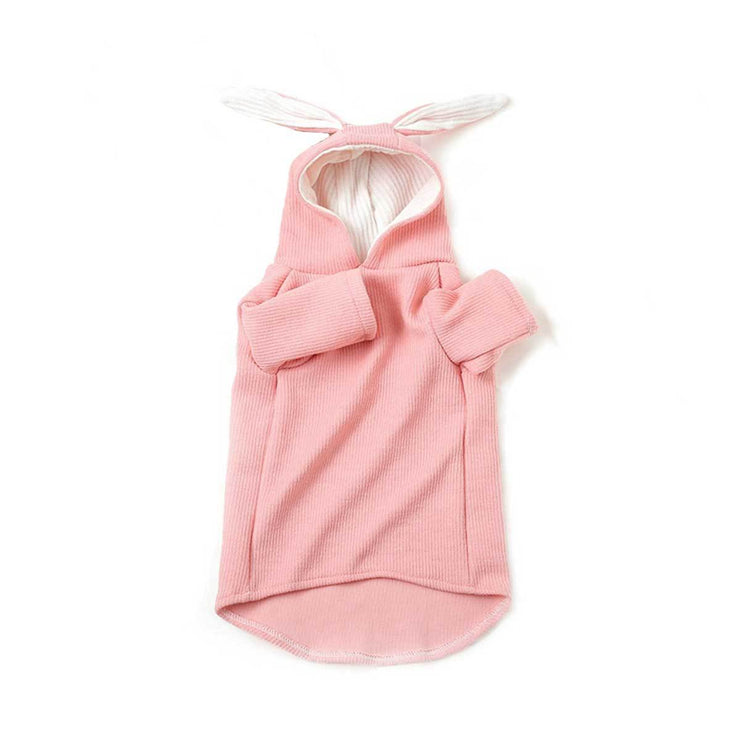 Pink Hoodie with Rabbit Ears | Pawlicious & Company
