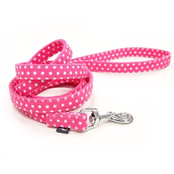Pink Polka Dog Leash | Pawlicious & Company