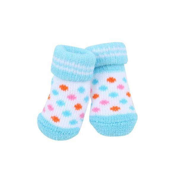 Polka Dot Dog Socks Blue | Pawlicious & Company