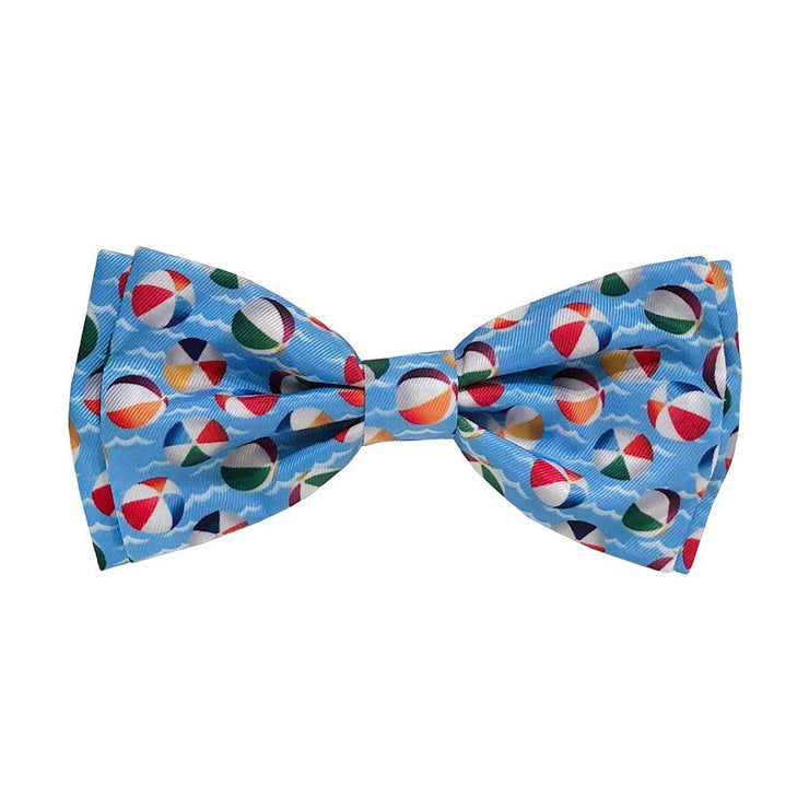 Pool Party Dog Collar Bow Tie | Pawlicious & Company